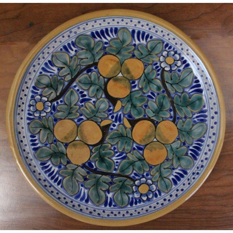 Talavera Plate - D4
