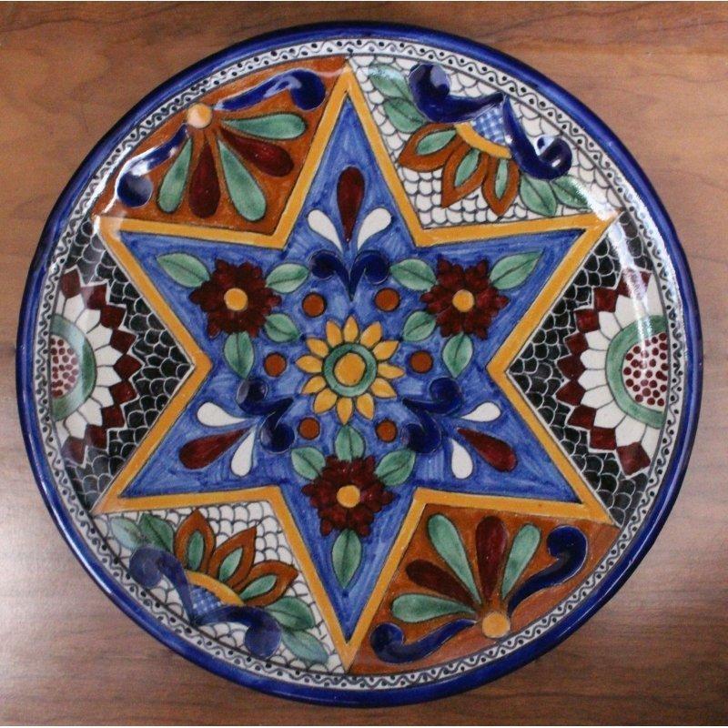 Talavera Plate - D7