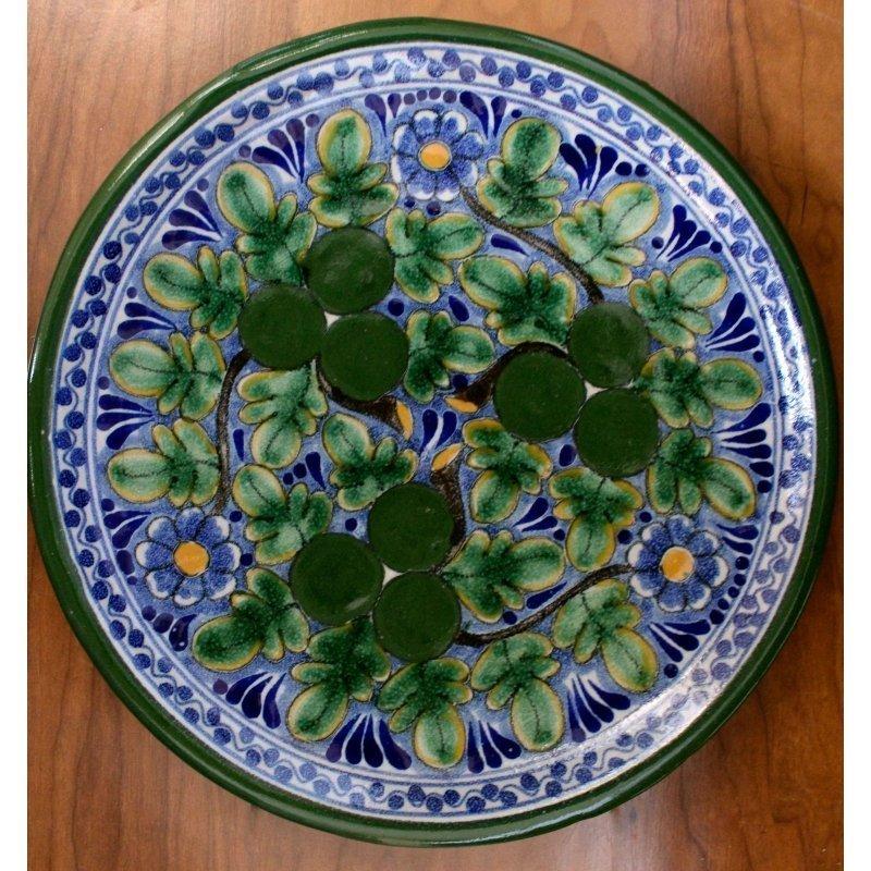 Talavera Plate - D8