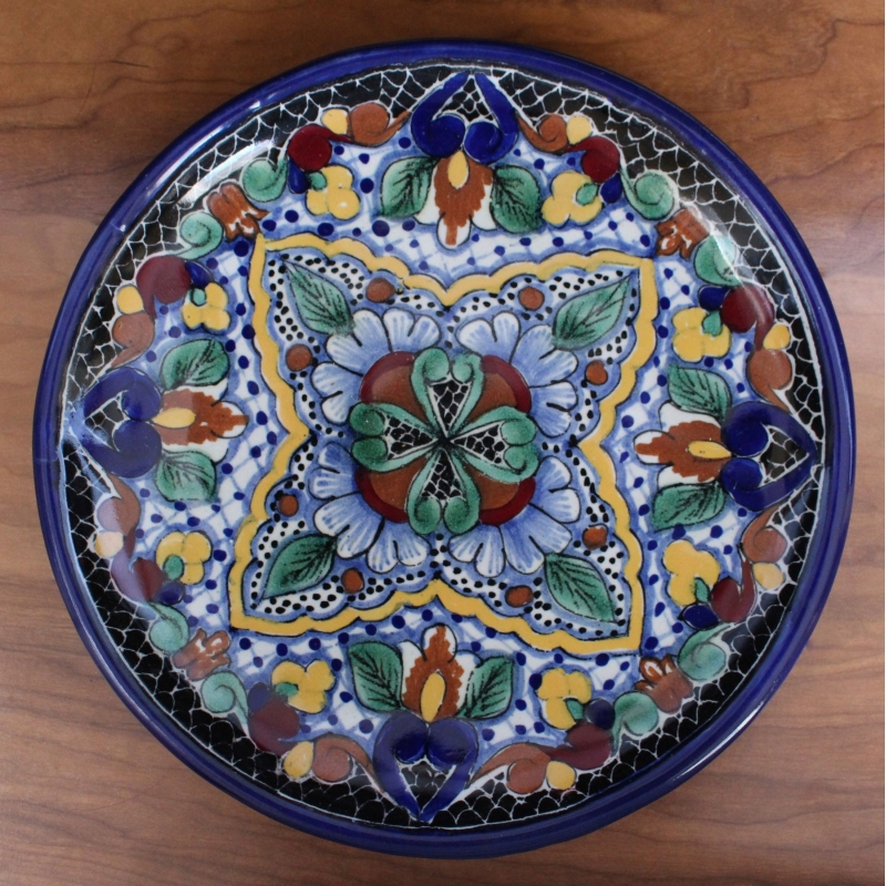Talavera Plate - D9