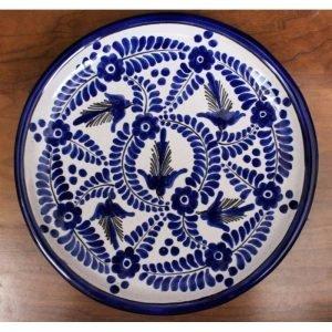 Talavera Plate - D10