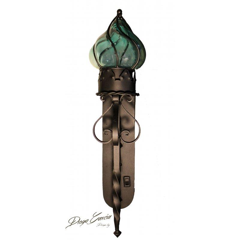 """""""Farol-Pared"""" Wall Blown Glass Lamp"""